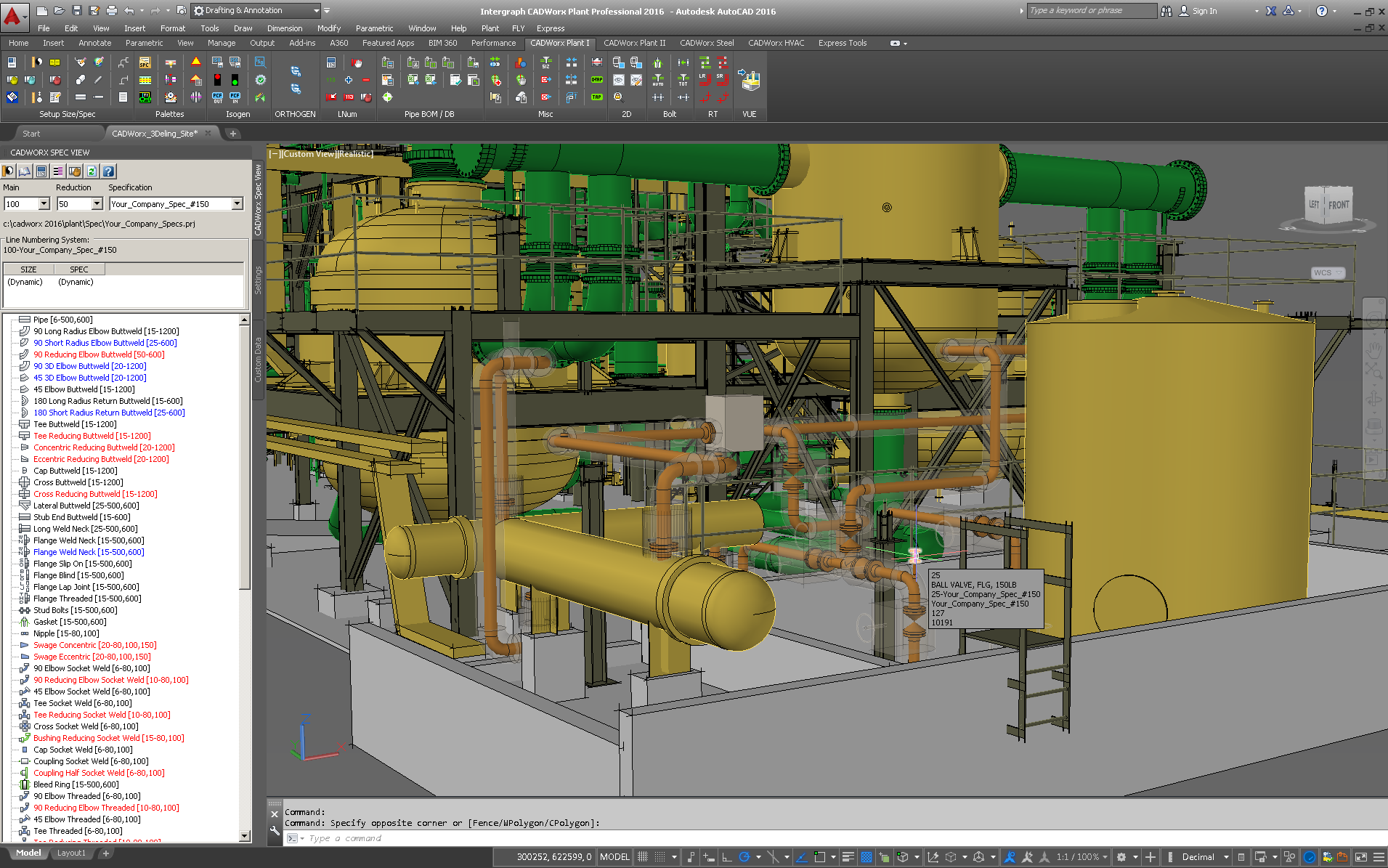 Bibrain - Student training for Piping Design Course | SP3D | CAESAR